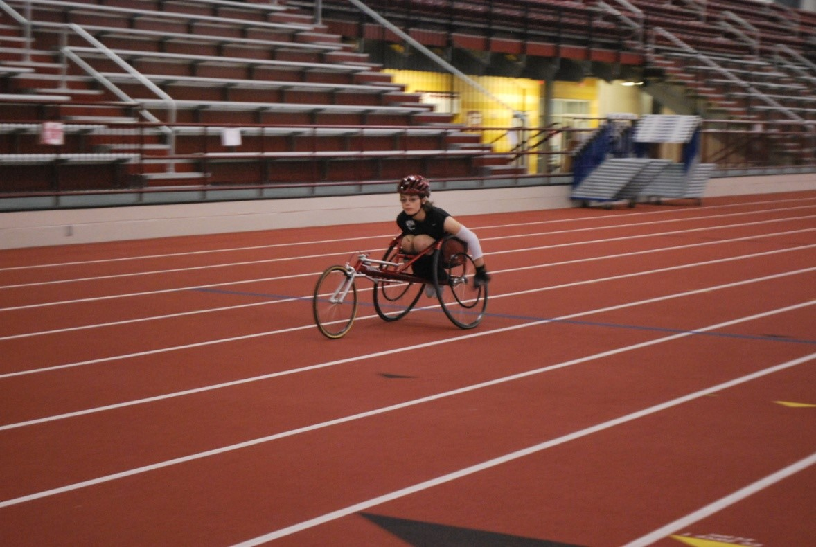 Berea – Midpark High School sponsored the Berea Relays May 2013. During the event, YC / ASPO (Adaptive Sports Program of Ohio) athlete Alyssa Patterson ran an exhibition 200M race largely thanks to Berea High Cross Country Coach and meet director Barbara Hunter who encouraged her efforts.